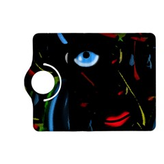 Black Magic Woman Kindle Fire Hd (2013) Flip 360 Case by Valentinaart