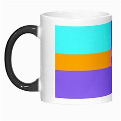 Right Angle Squares Stripes Cross Colored Morph Mugs by EDDArt