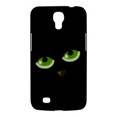 Halloween   Back Cat Samsung Galaxy Mega 6 3  I9200 Hardshell Case by Valentinaart