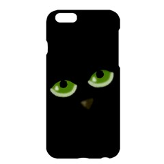 Halloween   Back Cat Apple Iphone 6 Plus/6s Plus Hardshell Case by Valentinaart
