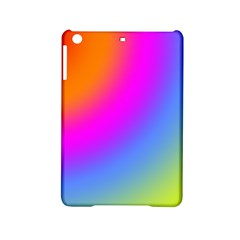 Radial Gradients Red Orange Pink Blue Green Ipad Mini 2 Hardshell Cases by EDDArt