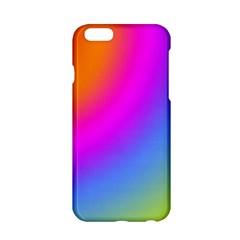 Radial Gradients Red Orange Pink Blue Green Apple Iphone 6/6s Hardshell Case by EDDArt
