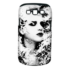Romantic Dreaming Girl Grunge Black White Samsung Galaxy S Iii Classic Hardshell Case (pc+silicone) by EDDArt