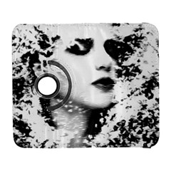 Romantic Dreaming Girl Grunge Black White Samsung Galaxy S  Iii Flip 360 Case
