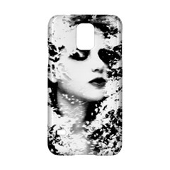 Romantic Dreaming Girl Grunge Black White Samsung Galaxy S5 Hardshell Case