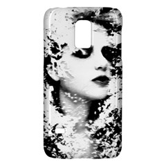 Romantic Dreaming Girl Grunge Black White Galaxy S5 Mini