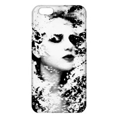 Romantic Dreaming Girl Grunge Black White Iphone 6 Plus/6s Plus Tpu Case by EDDArt