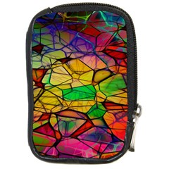 Abstract Squares Triangle Polygon Compact Camera Cases by AnjaniArt