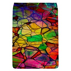 Abstract Squares Triangle Polygon Flap Covers (s)  by AnjaniArt