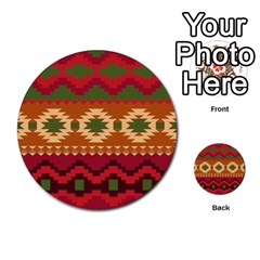 Background Plot Fashion Multi Purpose Cards (round)  by AnjaniArt