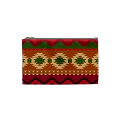 Background Plot Fashion Cosmetic Bag (small)  by AnjaniArt