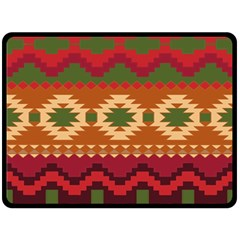 Background Plot Fashion Double Sided Fleece Blanket (large)  by AnjaniArt