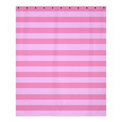 Fabric Baby Pink Shades Pale Shower Curtain 60  X 72  (medium)  by AnjaniArt