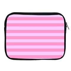 Fabric Baby Pink Shades Pale Apple Ipad 2/3/4 Zipper Cases by AnjaniArt