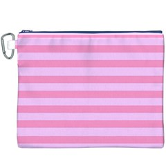 Fabric Baby Pink Shades Pale Canvas Cosmetic Bag (xxxl) by AnjaniArt