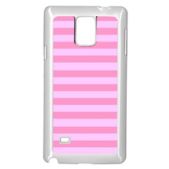 Fabric Baby Pink Shades Pale Samsung Galaxy Note 4 Case (white) by AnjaniArt