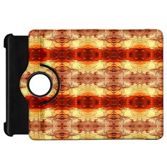 Fabric Design Pattern Color Kindle Fire Hd Flip 360 Case by AnjaniArt