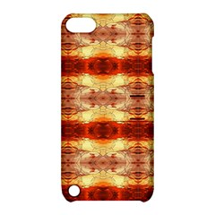 Fabric Design Pattern Color Apple Ipod Touch 5 Hardshell Case With Stand by AnjaniArt