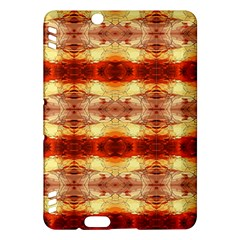 Fabric Design Pattern Color Kindle Fire Hdx Hardshell Case by AnjaniArt