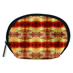 Fabric Design Pattern Color Accessory Pouches (medium)  by AnjaniArt