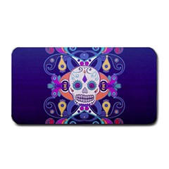 Día De Los Muertos Skull Ornaments Multicolored Medium Bar Mats by EDDArt