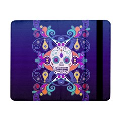 Día De Los Muertos Skull Ornaments Multicolored Samsung Galaxy Tab Pro 8 4  Flip Case by EDDArt