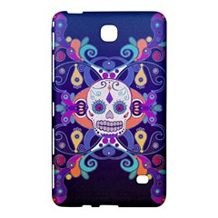 Día De Los Muertos Skull Ornaments Multicolored Samsung Galaxy Tab 4 (8 ) Hardshell Case  by EDDArt