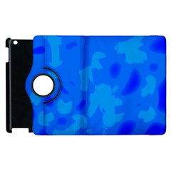 Simple Blue Apple Ipad 3/4 Flip 360 Case by Valentinaart