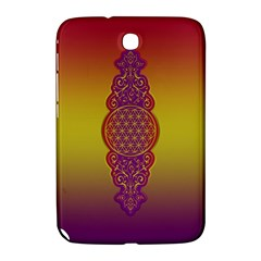 Flower Of Life Vintage Gold Ornaments Red Purple Olive Samsung Galaxy Note 8 0 N5100 Hardshell Case  by EDDArt