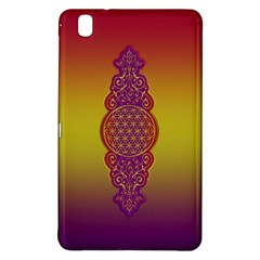 Flower Of Life Vintage Gold Ornaments Red Purple Olive Samsung Galaxy Tab Pro 8 4 Hardshell Case