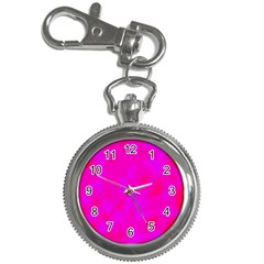 Simple Pink Key Chain Watches by Valentinaart
