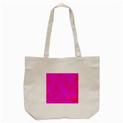 Simple Pink Tote Bag (cream) by Valentinaart