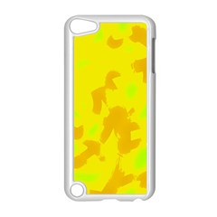 Simple Yellow Apple Ipod Touch 5 Case (white) by Valentinaart