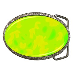Simple Yellow And Green Belt Buckles by Valentinaart
