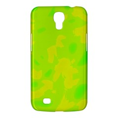 Simple Yellow And Green Samsung Galaxy Mega 6 3  I9200 Hardshell Case by Valentinaart