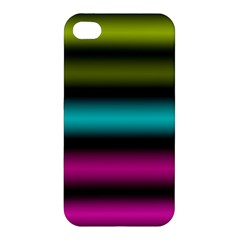Dark Green Mint Blue Lilac Soft Gradient Apple Iphone 4/4s Hardshell Case by designworld65
