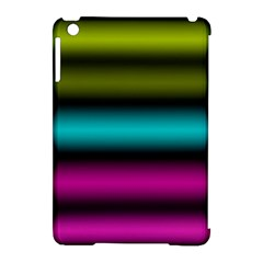 Dark Green Mint Blue Lilac Soft Gradient Apple Ipad Mini Hardshell Case (compatible With Smart Cover) by designworld65