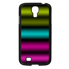 Dark Green Mint Blue Lilac Soft Gradient Samsung Galaxy S4 I9500/ I9505 Case (black) by designworld65