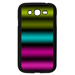 Dark Green Mint Blue Lilac Soft Gradient Samsung Galaxy Grand Duos I9082 Case (black) by designworld65