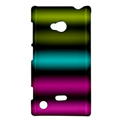Dark Green Mint Blue Lilac Soft Gradient Nokia Lumia 720 by designworld65