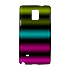 Dark Green Mint Blue Lilac Soft Gradient Samsung Galaxy Note 4 Hardshell Case by designworld65