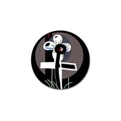 Dark Golf Ball Marker (10 Pack) by Valentinaart