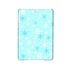 Blue Xmas Pattern Ipad Mini 2 Hardshell Cases by Valentinaart