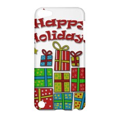 Happy Holidays   Gifts And Stars Apple Ipod Touch 5 Hardshell Case by Valentinaart