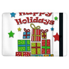 Happy Holidays   Gifts And Stars Ipad Air Flip by Valentinaart