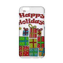 Happy Holidays   Gifts And Stars Apple Iphone 6/6s Hardshell Case by Valentinaart