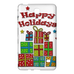 Happy Holidays   Gifts And Stars Samsung Galaxy Tab 4 (8 ) Hardshell Case  by Valentinaart