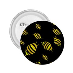 Decorative Bees 2 25  Buttons by Valentinaart