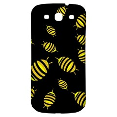 Decorative Bees Samsung Galaxy S3 S Iii Classic Hardshell Back Case by Valentinaart