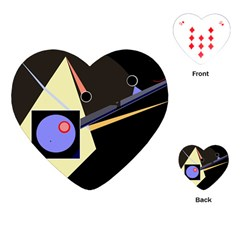 Construction Playing Cards (heart)